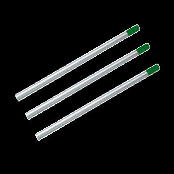 Алюминиевая рукоятка зеленая под держатели для мопов 23,5*140 см PRO Service Standart