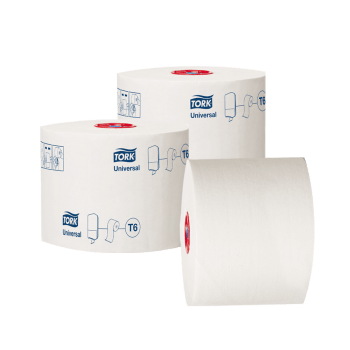 Tork Universal Туалетная бумага в миди-рулонах 1 слой 135 м белая 127540 Т6