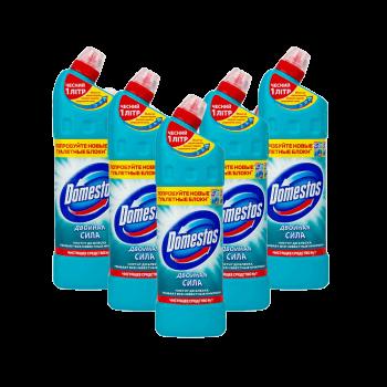 Доместосс 1 л средство для мытья и дезинфекции санузлов Атлантическая Свежесть