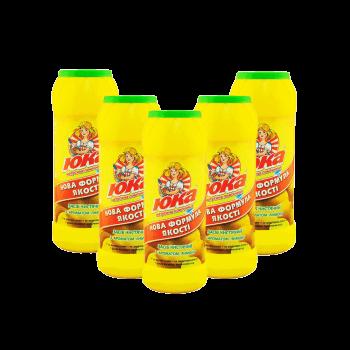 ЮКА чистячий порошок с ароматом Лимон 500г