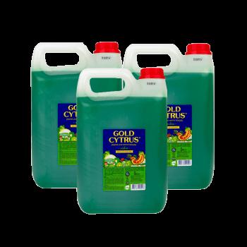 Gold Cytrus средство для мытья посуды 5 л Зеленое