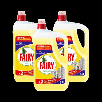 FAIRY Сочный Лимон 5 л средство для мытья посуды