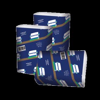Полотенца листовые белые ZZ-сложение 2х-слойные 200 шт/уп Selpak Professional Premium