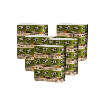 Marathon Standart Полотенца бумажные макулатурные ZZ-сложения 1-слойные 250 шт