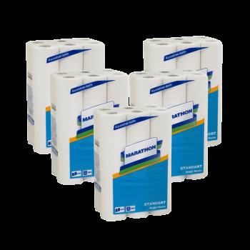Marathon standart полотенца бумажные кухонные 2 слоя 12,5 м 12 рулонов PRO Service