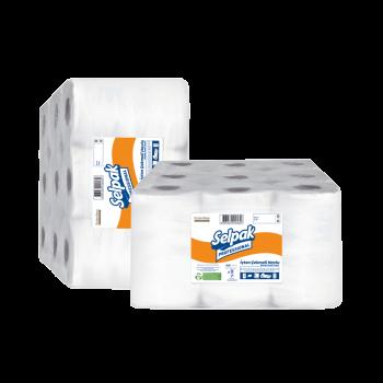 Selpak Professional Полотенце бумажное целлюлозный для автоматических диспенсеров 2-слойный 135м 6рул.