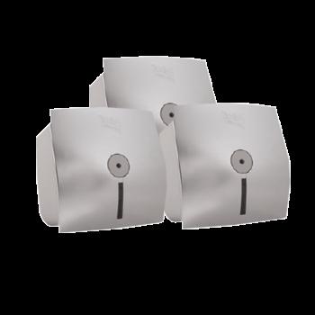 Диспенсер для туалетной бумаги с центральной вытяжкой серебристый Selpak Professional