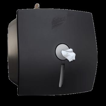 Диспенсер для туалетной бумаги с центральной вытяжкой черный Selpak Professional