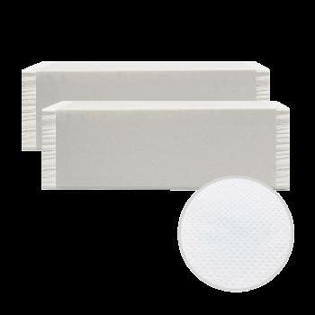 Полотенца листовые белые V-сложение 2х-слойные 160 шт/уп PRO Service Comfort Украина
