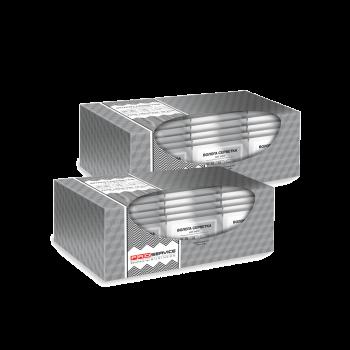 Влажные салфетки в дизайнерском боксе Catering саше для рук и лица 140*130 мм 80 шт в боксе PRO Service