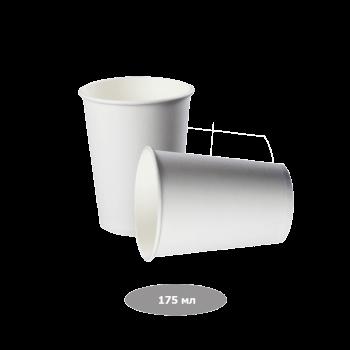 Pro Service  Стаканы бумажные 175 мл, белые 50 шт