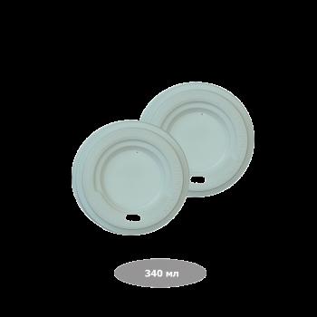 Pro Service  Крышка для бумажных стаканов Ripple 340 мл, белая