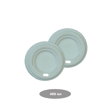 Pro Service  Крышка для бумажных стаканов Ripple 400 мл, белая