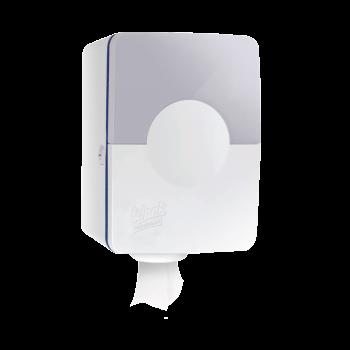 Держатель для бумажных полотенец с центральной вытяжкой белый пластиковый Selpak Professional Touch