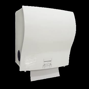 Держатель полуавтоматический для бумажных полотенец белый Selpak Professional
