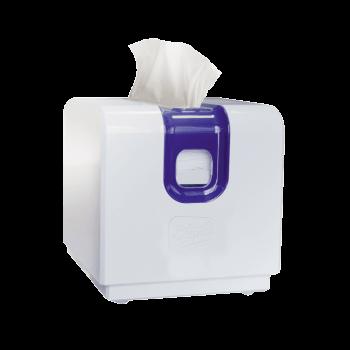 Держатель бумажных салфеток Pickasso белый пластиковый Selpak Professional
